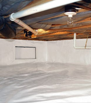A complete crawl space repair system in Marysville