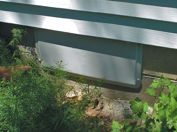 Airtight Crawl Space Vent Covers Installed In Marysville Everett Bothell Seal The Vents And Install A Liner To Preserve Improve Your Crawl Space In Wa