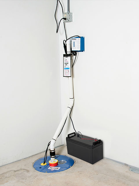 Delicieux ... Basement Systems; A Sump Pump System ...