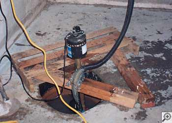 A Mill Creek sump pump system that failed and lead to a basement flood.