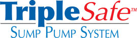 Sump pump system logo for our TripleSafe, available in areas like Sedro Woolley