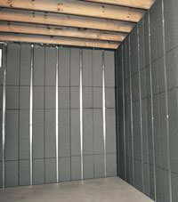 Thermal insulation panels for basement finishing in Bothell, Washington